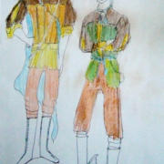 Aenaes & Sailor sketch