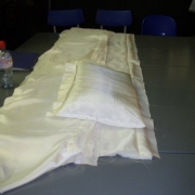 coffin lining