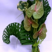 floral_conemporary palm