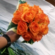 floral_rose handheld bouquet