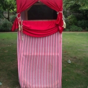 punch and judy stand