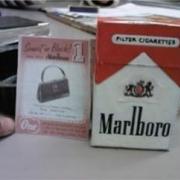 1950's cigarette box and voucher - 'A Taste Of Honey'