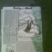 Victorian Newspaper back- 'Cavalcade'