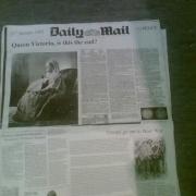 Victorian Newspaper front - 'Cavalcade'
