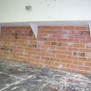 vacform plastic wall texured