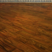 mahogany flooring effect