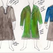 inmate costume, Dr Ragin coat, Nikita the guard