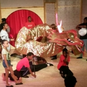 The Magic Paintbrush Chinese dragon