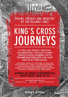 Kings Cross Journeys flyer